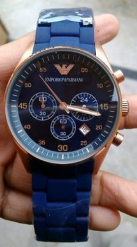 EMPORIOR ARMANI INSPIRED FEMALE BLUE WATCH