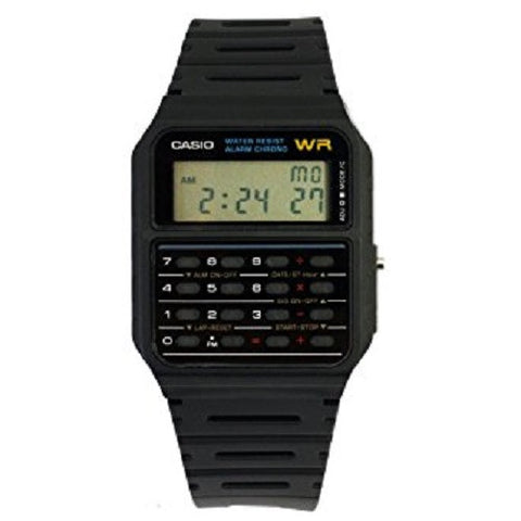 Casio Ca53w-1  Digital Watch With Built-in Calculator