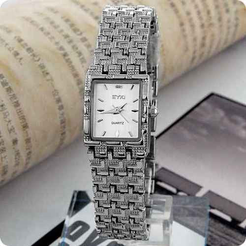 Eyki K1960g Ultra Thin Silver Ladies watch
