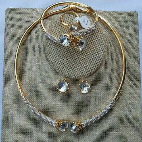 F001 Choker Gold Set