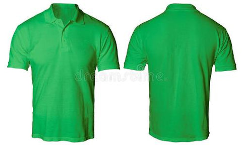 PLAIN LEMON GREEN POLO T-SHIRT M--XXL