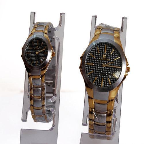 goldsilver wrist watches