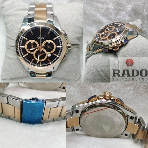 RADO 0961 GOLD AND SILVER CHAIN WATCH