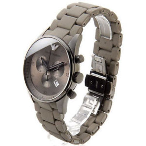 EMPORIOR ARMANI INSPIRED FEMALE GREY WATCH
