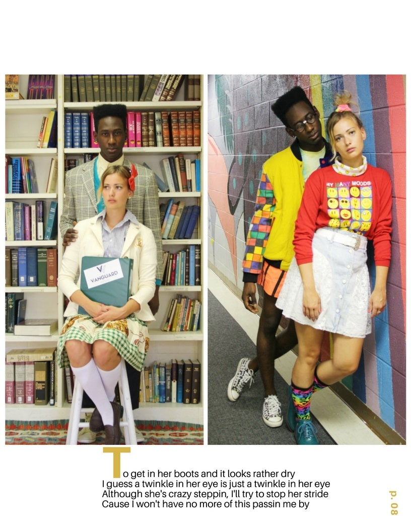Vanguard Vintage Clothing Vintage Fall 2016 Back to School Varsity Look Book Lookbook 12