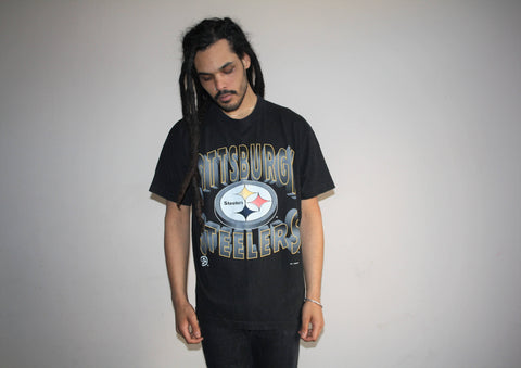 1990s VTG Pittsburgh Steelers 1994 NFL Football Graphic T Shirt