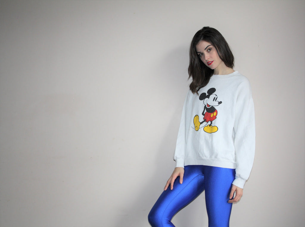 Vintage 90s Disney Mickey Mouse Long Sleeve Top
