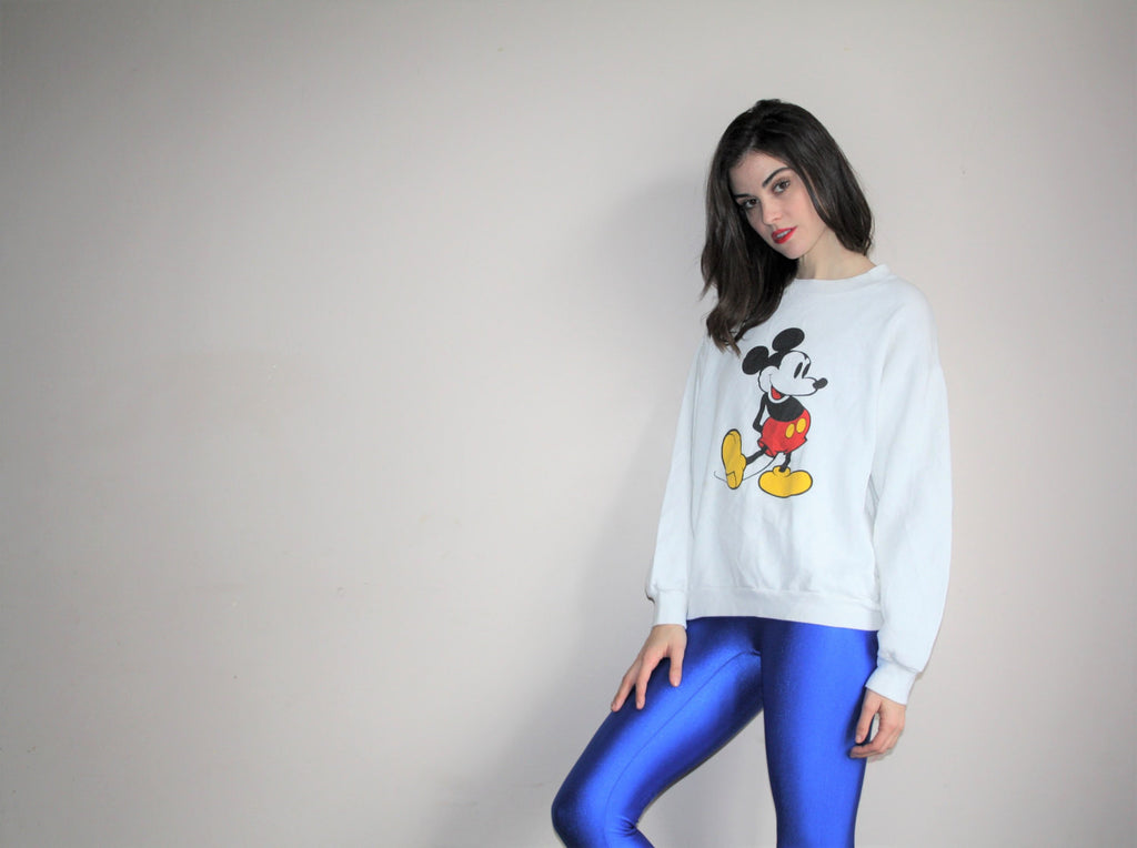 Vintage 80s Disney Mickey Mouse Sweatshirt