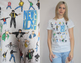 1990s Vintage New Kids On The Block Nkotb Neon T Shirt