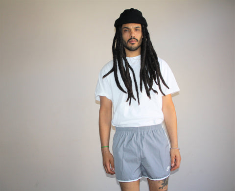 1980s Vintage Nike Swoosh Athletic Short Gym Shorts