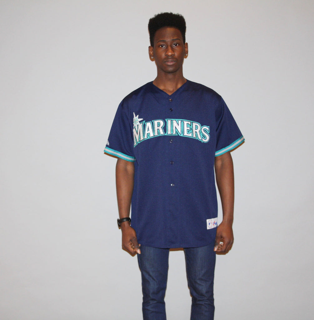 1990s Seattle Mariners MLB Professional Baseball Jersey