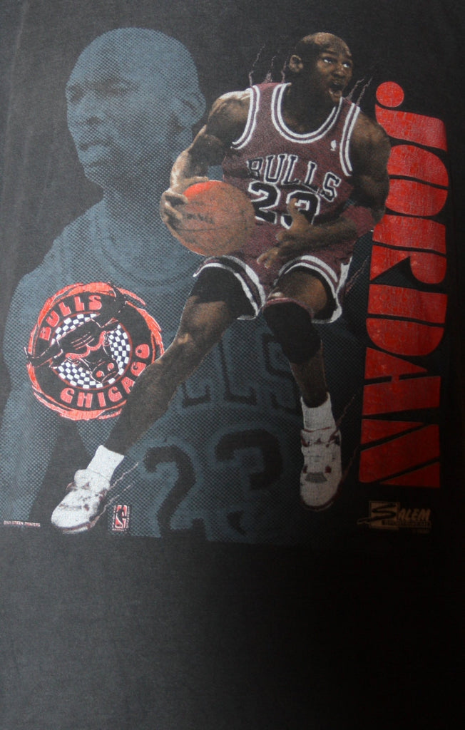 Salem Chicago Bulls Vintage 90s Michael Jordan T Shirt