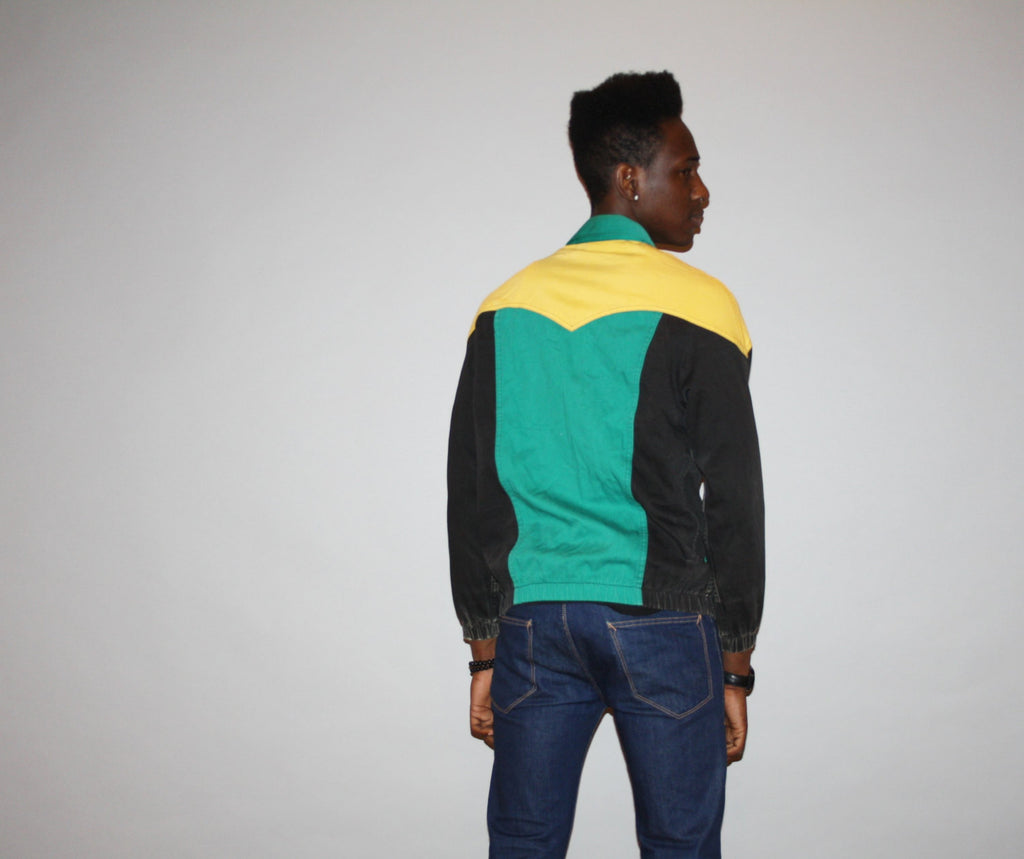 1980s Vintage Levi's Colorblock Jacket
