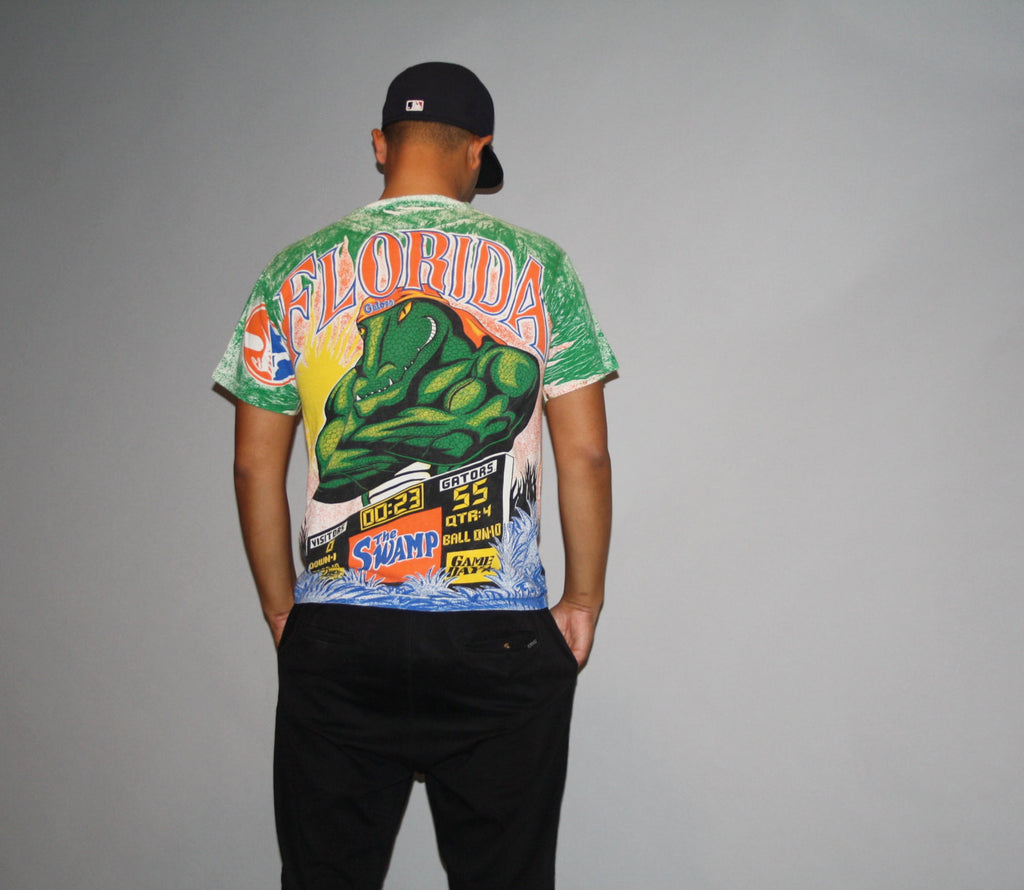 1990s Florida Gators NCAA T Shirt