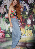 1990s VTG LEvi Strauss Mid Rise Light Wash Denim Oversize Levis Jeans