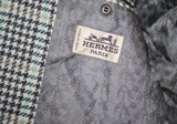 Vintage Designer Hermes Men's Tweed Sportscoat Blazer Jacket