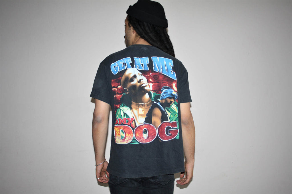 1990s Vintage DMX Hip Hop Rap Graphic Music T Shirt