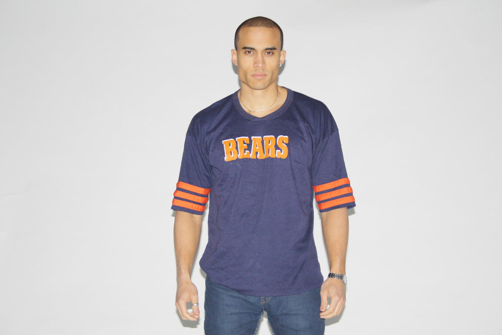 1980s Vintage Chicago Bears NFL Football Jersey T Shirt