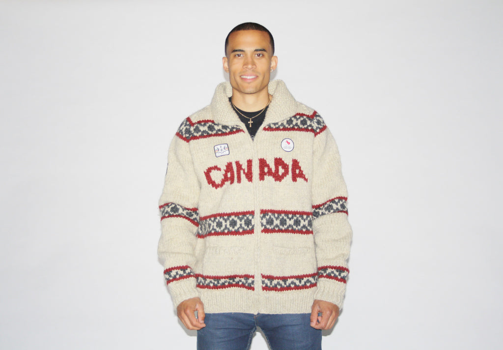 Hudson's Bay Canadian Paralympic Games Committee Cowichen Knit Sweater