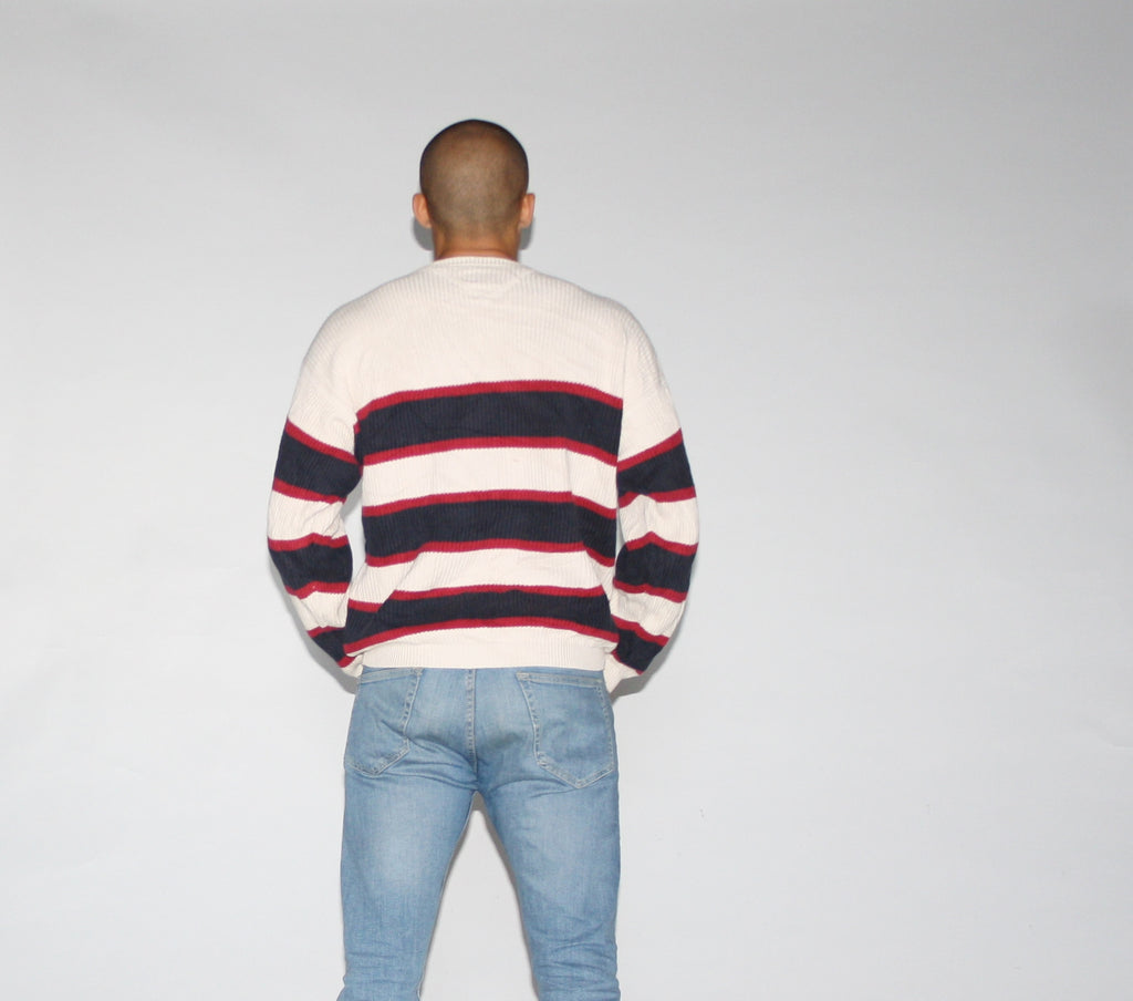 1990s Vintage Tommy Hilfiger Classic Brand Sweater