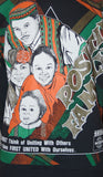 Rare Vintage 1990s Positive Family World Colors Black History Kacy Sweatshirt