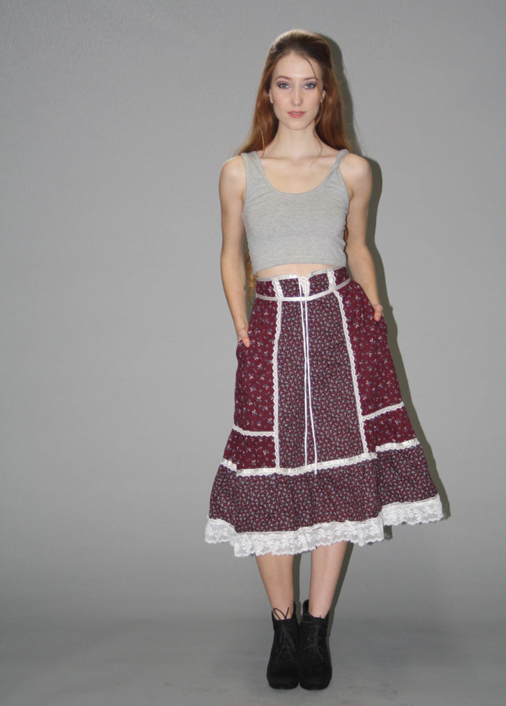 Copy of Gunne Sax Vintage 1970s Skirt