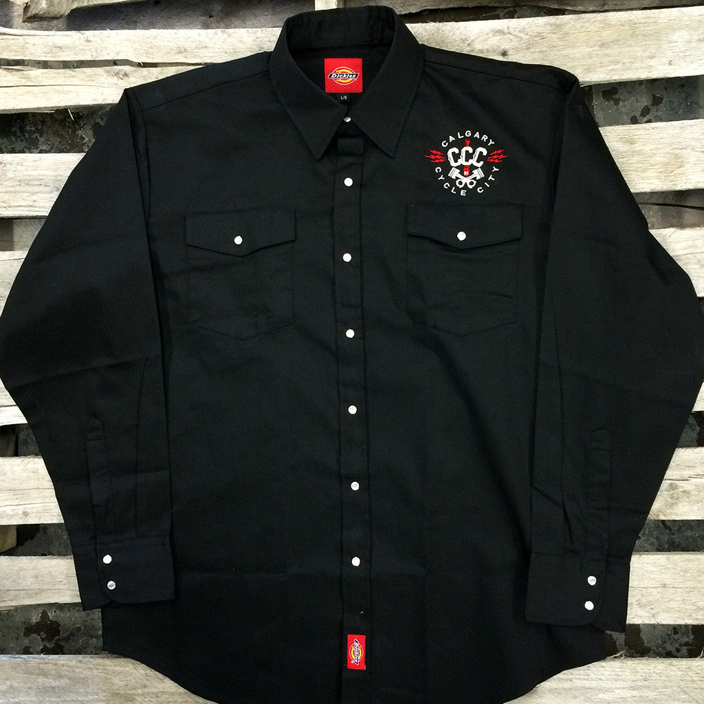 CCC Dickies Embroidered Work Shirts
