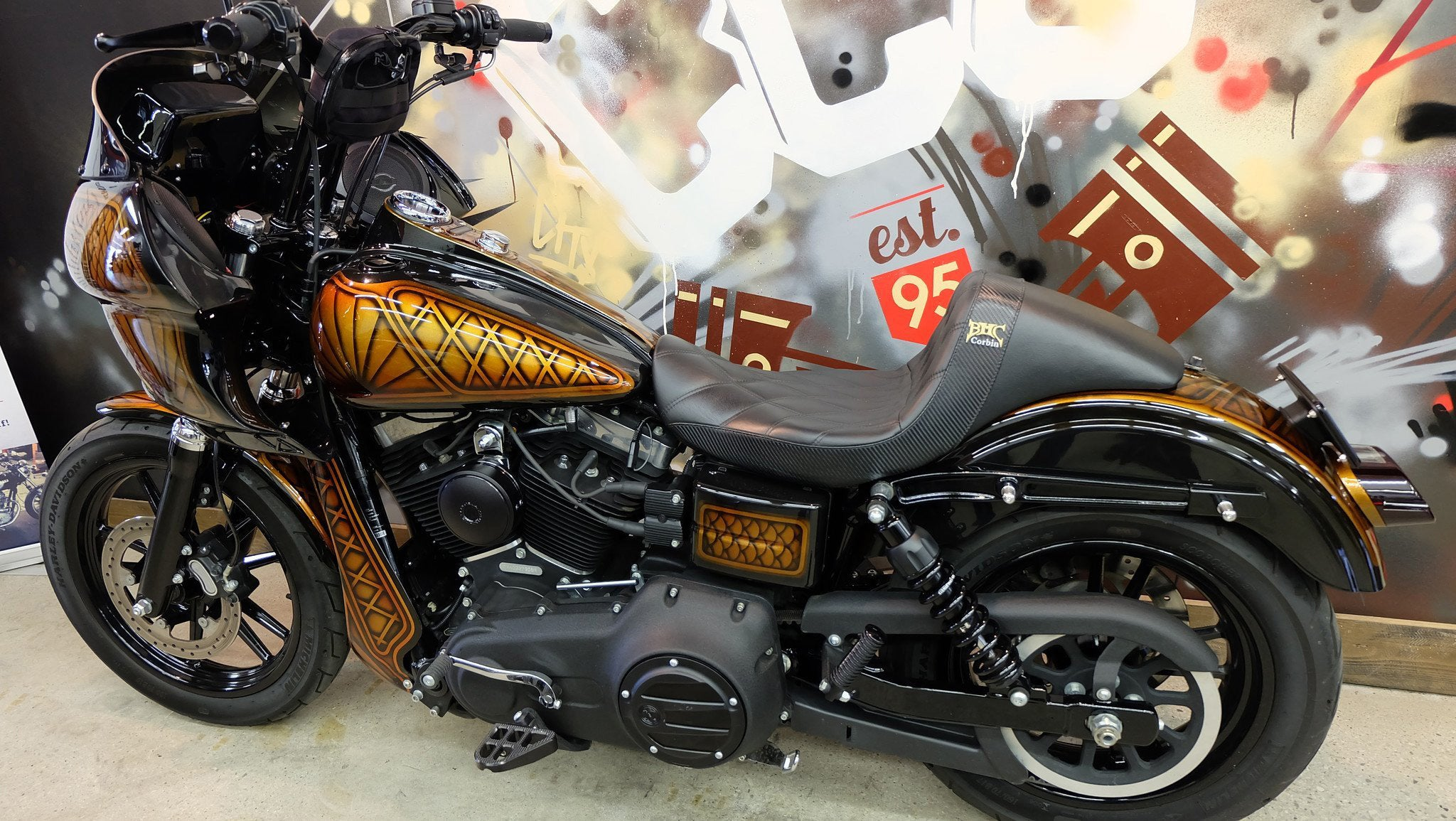 SOLD. 2013 Harley FXDB Custom