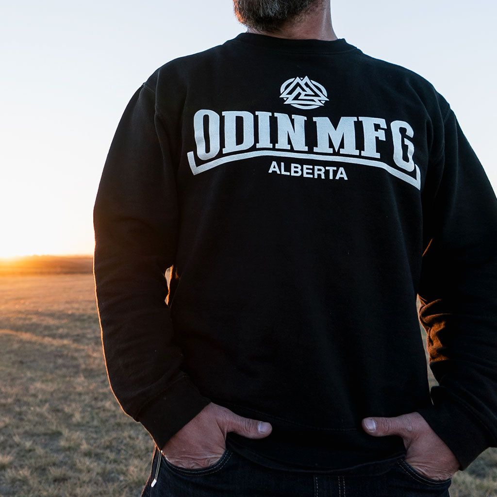 ODIN Black Crew Neck