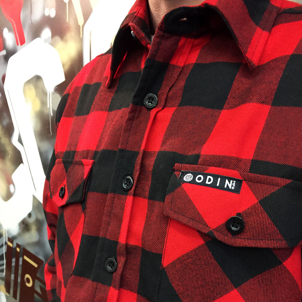 ODIN & CCC Thick as Blood Red Flannel