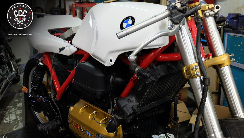 1984 BMW K75 Custom Build