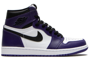 Jordan 1 Retro High OG Court Purple / Black
