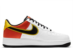 Nike Air Force 1 '07 LV8 Raygun White / Black - Orange