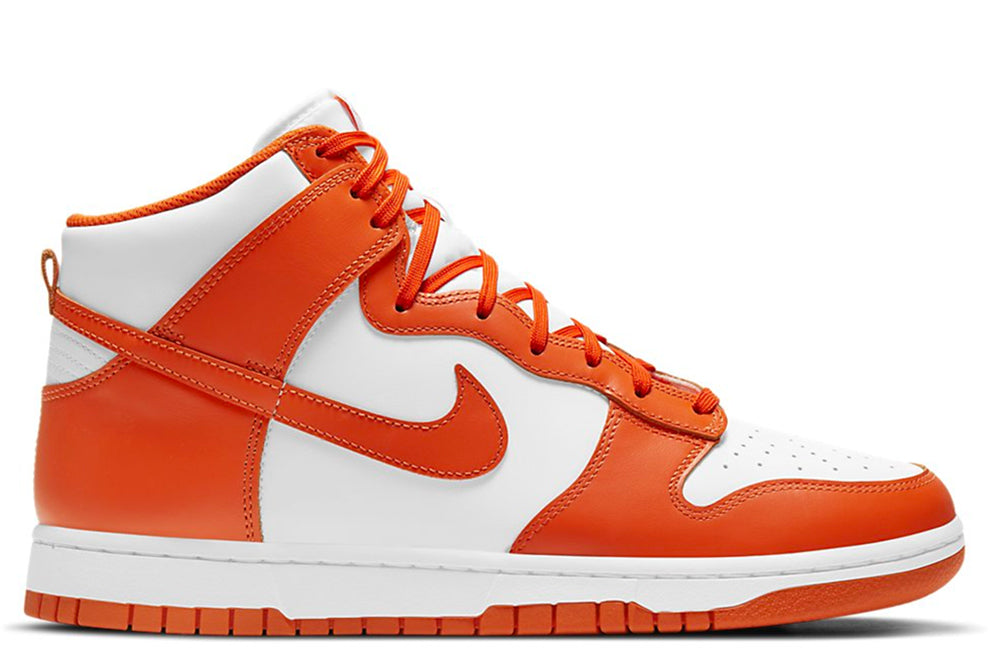 Nike Dunk High Retro White / Orange Blaze
