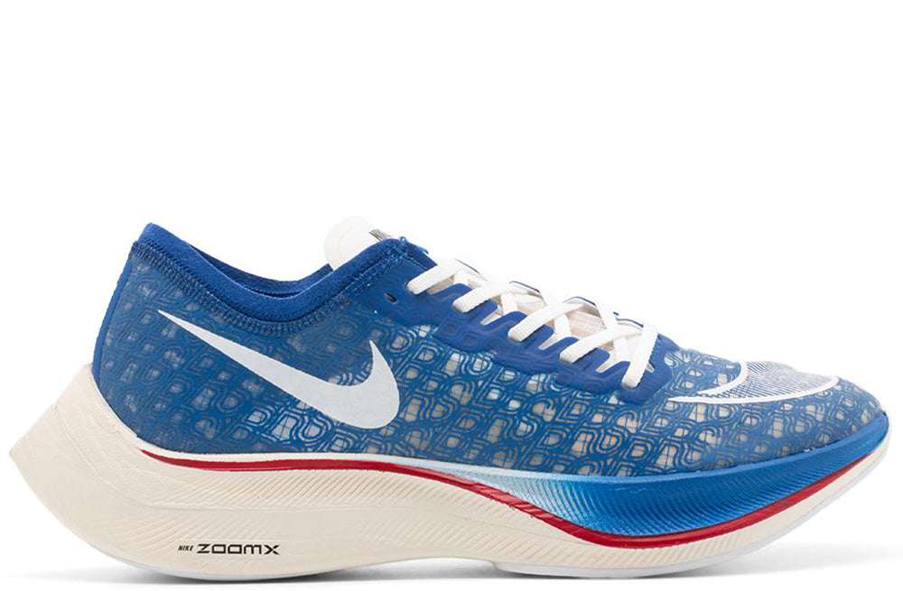 Nike ZoomX Vaporfly Next% Game Royal / White