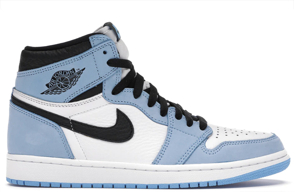 Jordan 1 Retro High OG White / Black - University Blue