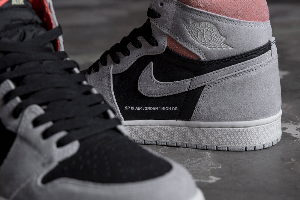 Jordan Retro 1 High OG Neutral Grey / Black