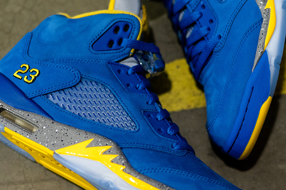 Jordan 5 Laney JSP / Varsity Royal
