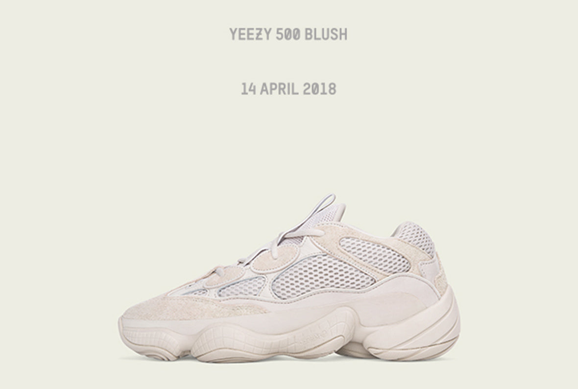 Adidas Originals Yeezy Desert Rat 500 / Blush