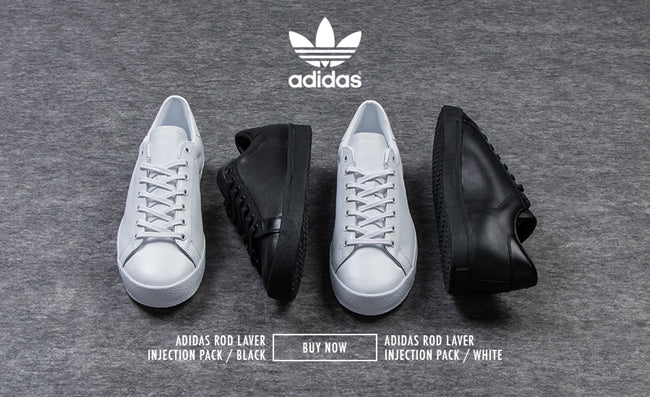 save off 83b24 48481 adidas Rod Laver Injection Pack