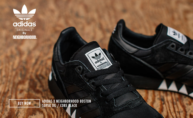 super popular 7c813 c6ba1 ADIDAS X NEIGHBORHOOD BOSTON SUPER OG  CORE BLACK – Deadstoc