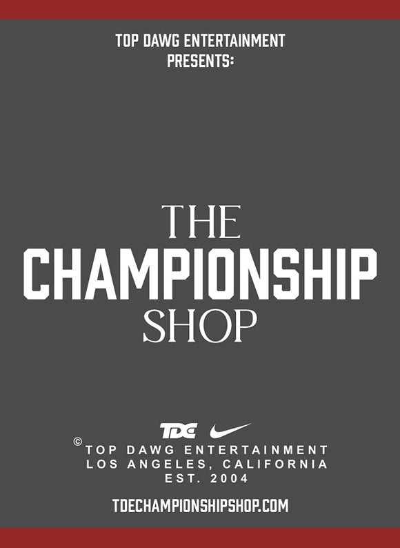 TDE Presents: The Championship Shop | Hosted by Livestock