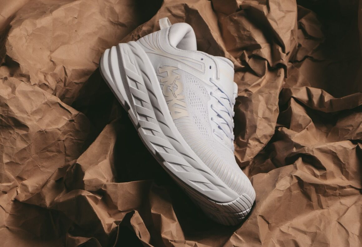 Hoka One One Bondi 7 White - feb 22 (6 am)