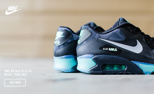 NIKE AIR MAX 90 ICE QS BLACK COOL GREY – Deadstock.ca