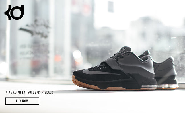 check out 5e861 54011 NIKE KD VII EXT SUEDE QS / BLACK – Deadstock.ca