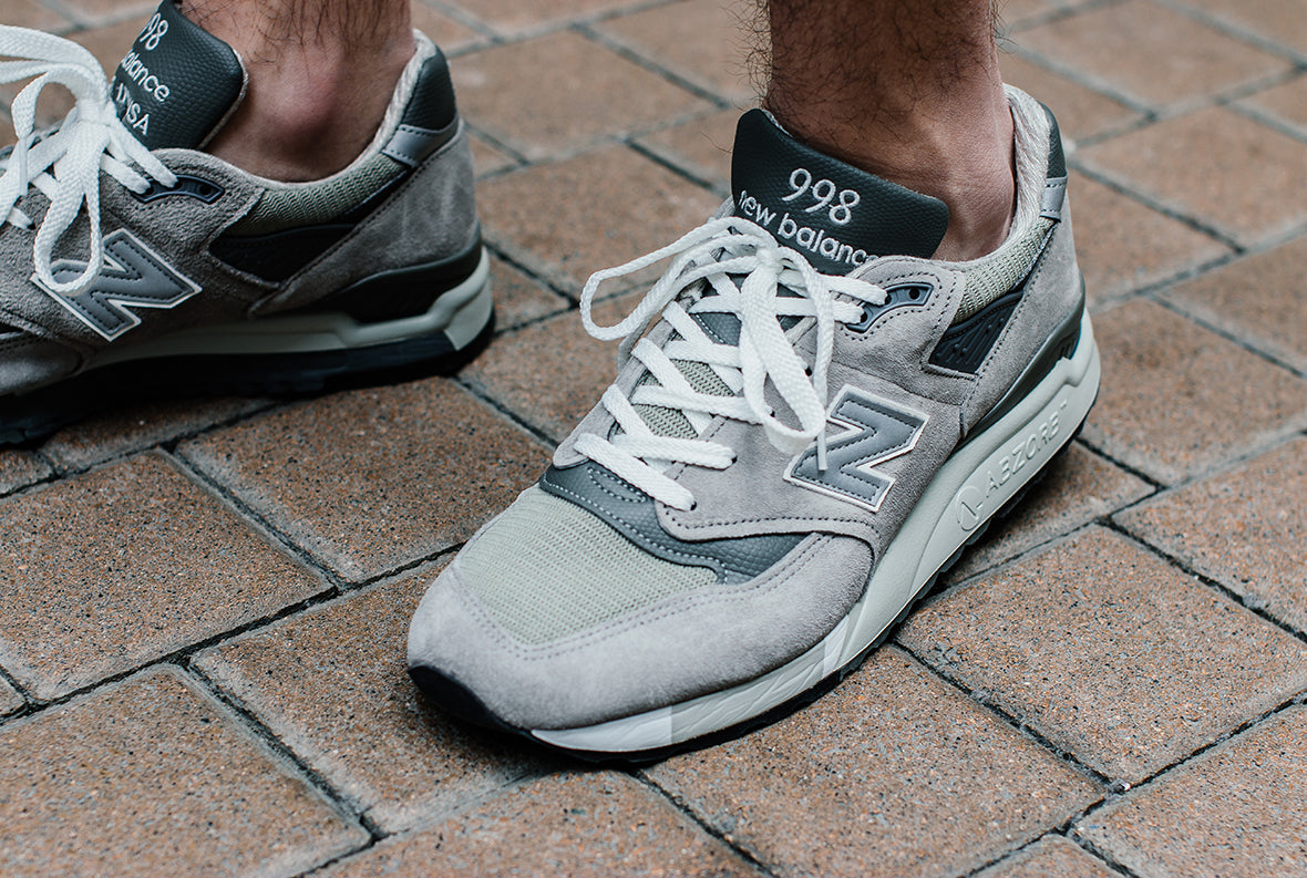 huge selection of 29a15 7c6a3 NEW BALANCE M998 GREY – Deadstock.ca
