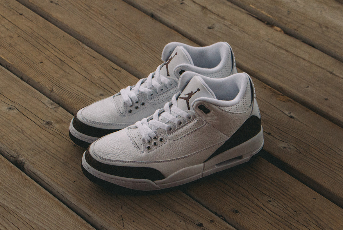 Jordan 3 Retro White / Dark Mocha