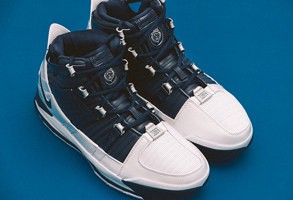 Nike Zoom Lebron III QS White / Midnight Navy