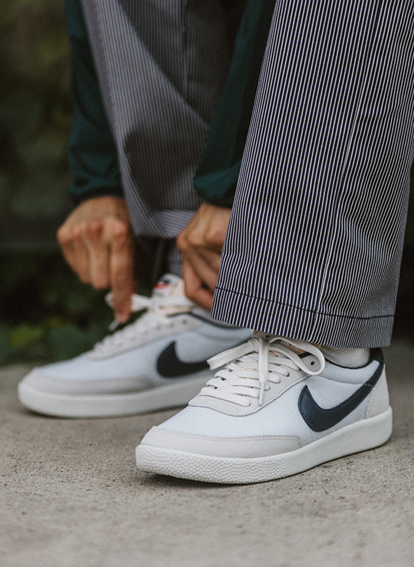 nike killshot on foot