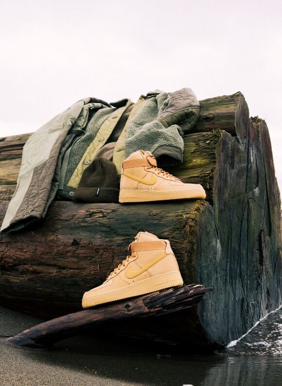 Nike Air Force 1 High '07 Flax / Wheat (natural shoot) - Jan 7